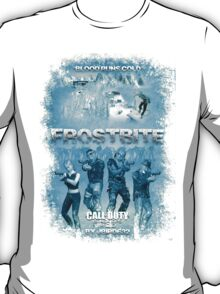 Call of Duty: Zombies Poster - Frostbite T-Shirt