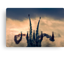 The Red Arrows Stormdance Canvas Print