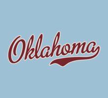 Oklahoma Script Garnet Kids Clothes