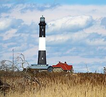 Fire Island Lighthouse #2 by Gilda Axelrod