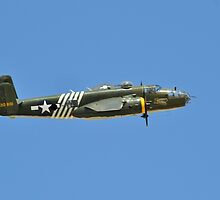 B-25 Mitchell Bomber by Eleu Tabares