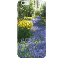 The Flower Lane, Keukenhof Gardens, 2007 iPhone Case/Skin