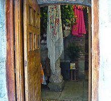 Madrid - Open Door at Cuevas de Luis Candelas by Michelle Falcony