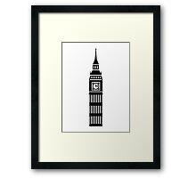 London Big Ben Framed Print