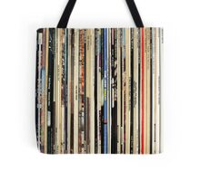 Record Collector Beatles Stones Dylan Vinyl  Tote Bag