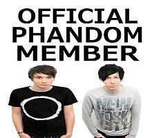 Official Phandom Member by LittlePhilosaur
