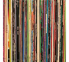 Classic Alternative Rock Records Photographic Print