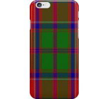 00061 Grant (Official) Clan Tartan  iPhone Case/Skin