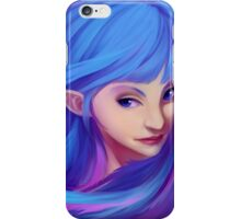 Blue Feather Elf iPhone Case/Skin