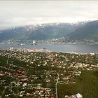 Over Tromso, Norway by Graeme  Hyde