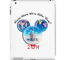 Guess where we are going Today 2014 iPad Case/Skin