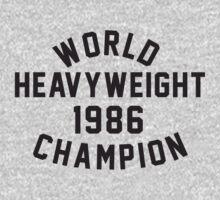 World Heavyweight 1986 Champion by hanelyn