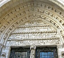 Toledo - Cathedral Door Frieze by Michelle Falcony