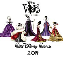 Disney Designer Villains T-Shirt and Totes for 2014 by lmcarlos