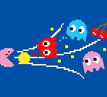 Pac-Kirby's Super Inhale by oikiden