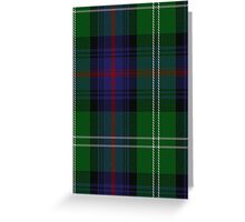 00072 Sutherland Clan Tartan  Greeting Card