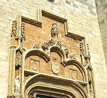 Alacalá de Henares, Spain - Stone Door Archway by Michelle Falcony
