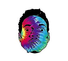Chance The Rapper Tie Dye by coolGEORGE