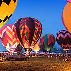 Balloon Glow - Midwest Balloon Fest by Paul Danger Kile