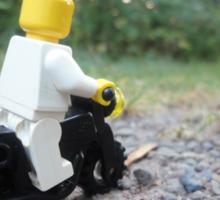 Lego Bike Sticker