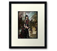 Steampunk Slayer Framed Print