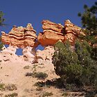 Utah Rock Formations  by clizzio