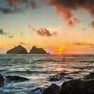 Cornish Sunset by JEZ22
