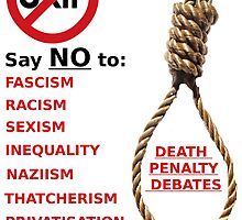 Anti-UKIP, Anti-Fascism. Say NO! by Lisa Briggs