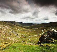Healy Pass, Ireland by Adam Webb