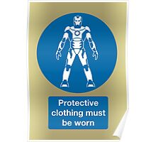 Protective Clothing Must be Worn Poster