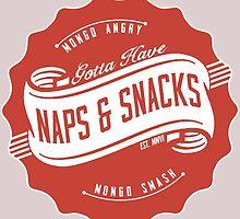Naps and Snacks by AngryMongo