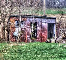 Rusty Shed by James Brotherton