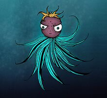 Cute angry creature by Shhh
