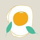 Fried egg by Rin Rin