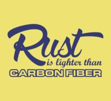 Rust is lighter than carbon fiber (2) Kids Clothes