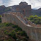 The Great Wall of China at Jinshanling by Martin Lawrence