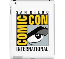 Comic Con No Border iPad Case/Skin