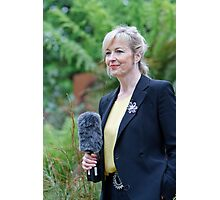Carol Kirkwood at the RHS Chelsea Flower Show 2013 Photographic Print