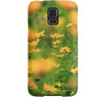 Yellow Blur Samsung Galaxy Case/Skin