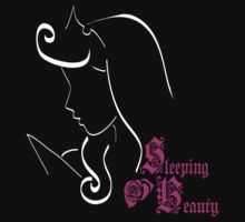 Sleeping Beauty´s outline by artescultura