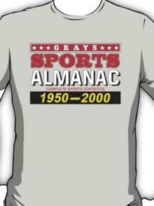 Biff's Almanac - Back to the Future T-Shirt