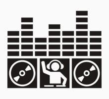 Equalizer DJ Vinyls Kids Clothes