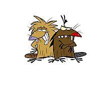 Angery Beavers - Norbert & Dagget - Group Photographic Print