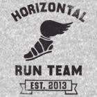Horizontal Running Team, Est. 2013 by Fitspire Apparel