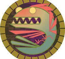 Quetzalcoatl Critteroid by jonasmakesstuff