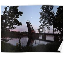 Seekonk River Bridge Poster