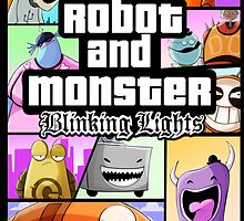 Robot and Monster: GTA by LizCabooz