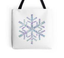 I love snow more than you! Tote Bag