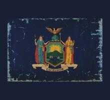 New York State Flag VINTAGE T-Shirt