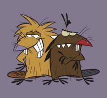 Angery Beavers - Norbert & Dagget - Group T-Shirt